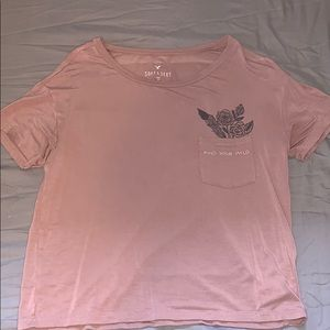 "american eagle ""find your wild"" shirt"